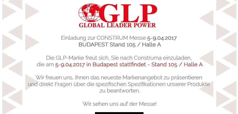 einladung zur construm messe 5-9.04.2017 budapest – global leader, Einladung