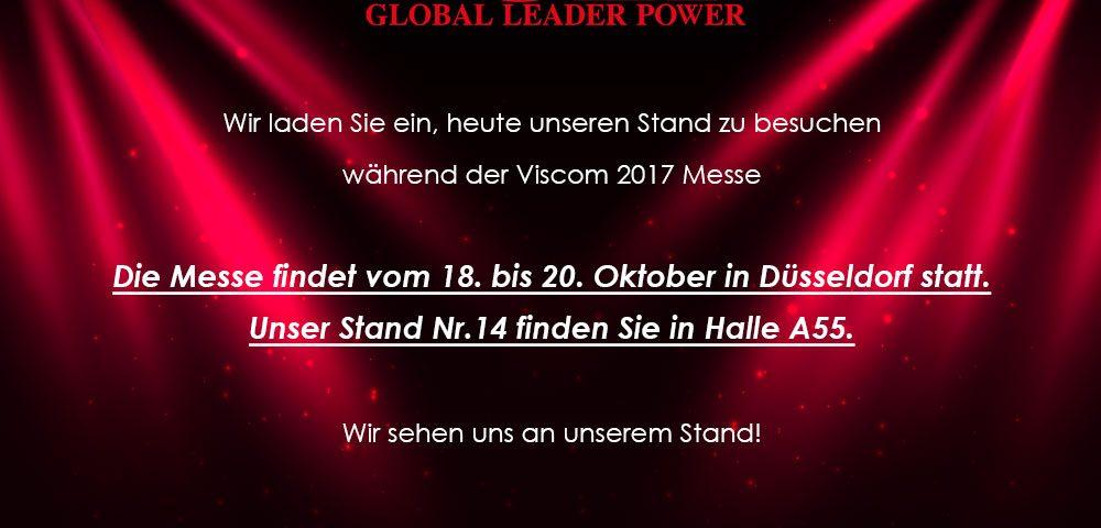 einladung zur messe viscom 18-20.10.2017 düsseldorf (deutschland, Einladung