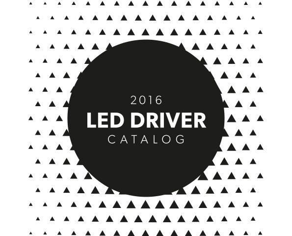 LED driver catalog 2016 - GLP, POS, Delta