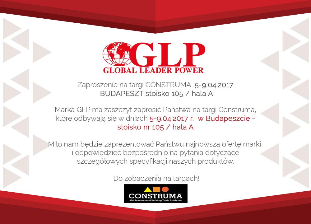 Zaproszenie Na Targi Construma 5 9042017 Budapeszt Global Leader